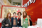"(L-R) From ""The Real Housewives of New York City"" Jill Zarin, environmental lifestyle expert Danny Seo, Countess LuAnn de Lesseps and Kelly Bensimon celebrate Earth Week at the Goodwill Denim Drive at JCPenney on April 24, 2010 in New York City."