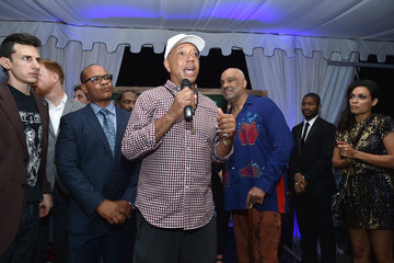 Danny Simmons The 6th Annual Bombay Sapphire Artisan Series Grand Finale Cohosted by Russell Simmons And Rosario Dawson During Art Basel