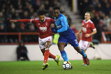 Danny Welbeck Nottingham Forest v Arsenal - The Emirates FA Cup Third Round