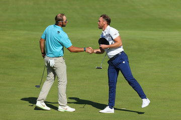 Danny Willett The 149th Open - Day Two