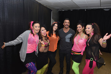 Danny Wood iHeart80s Party 2017 -  Backstage