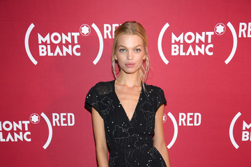 Daphne Groeneveld Montblanc And (RED) Launch The New (Montblanc M)RED Collection To Fight AIDS At New York's World Of McIntosh Townhouse