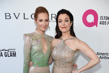 Darby Stanchfield Bellamy Young 26th Annual Elton John AIDS Foundation Academy Awards Viewing Party sponsored by Bulgari, celebrating EJAF and the 90th Academy Awards - Red Carpet