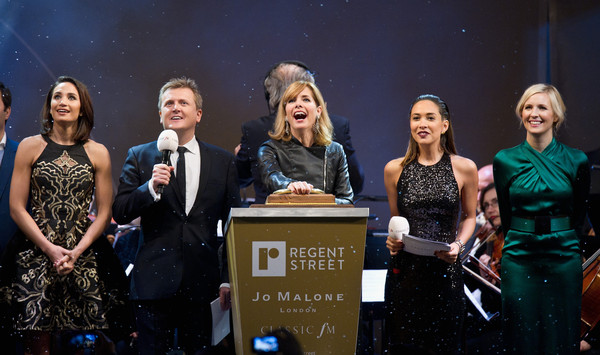 Darcey Bussell Switches on the Regent Street Christmas Lights