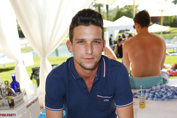 Daren Kagasoff FIJI Water Desert Pool Party