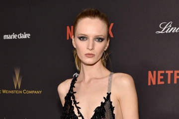 Daria Strokous The Weinstein Company and Netflix Golden Globe Party - Red Carpet