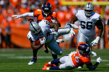 Darian Stewart Oakland Raiders vs. Denver Broncos