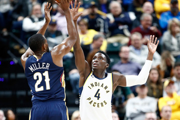 Darius Miller New Orleans Pelicans v Indiana Pacers
