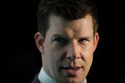 Actor Eric Mabius is interviewed during The Darker Side of Green climate change debate at Skylight West on March 30, 2010 in New York City.