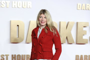 Meredith Ostrom attends the 'Darkest hour' UK premeire at Odeon Leicester Square on December 11, 2017 in London, England.