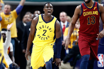 Darren Collison Cleveland Cavaliers Vs. Indiana Pacers - Game Six