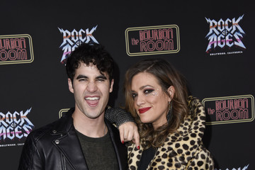 Darren Criss Mia Swier Preview Of Rock of Ages Hollywood At The Bourbon Room
