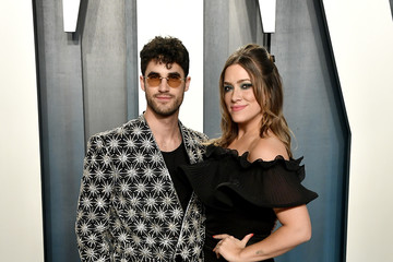 Darren Criss Mia Swier 2020 Vanity Fair Oscar Party Hosted By Radhika Jones - Arrivals
