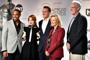 Daryl Anderson Jason George 25th Annual Screen Actors Guild Awards Nominations Announcement
