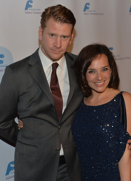 Dash Mihok with beautiful, Girlfriend Valeria Mason
