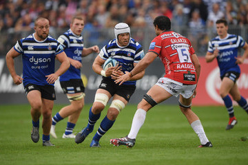 Dave Attwood Bath Rugby vs. Gloucester Rugby - Gallagher Premiership Rugby