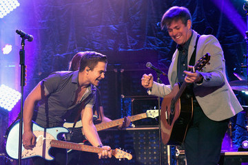 Dave Barnes Hunter Hayes 2nd Annual CMA Awards Week Street Party