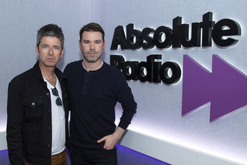 Dave Berry Noel Gallagher Visits Absolute Radio
