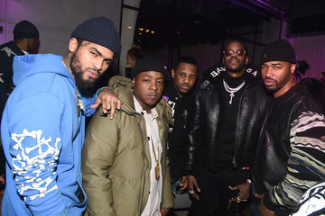Dave East The 2017 Def Jam Holiday Party