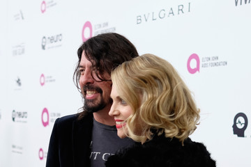 Dave Grohl Jordyn Blum 24th Annual Elton John AIDS Foundation's Oscar Viewing Party - Red Carpet