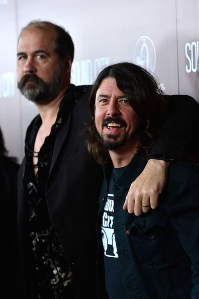 Krist Novoselic And Dave Grohl Premiere Of   Sound City   -