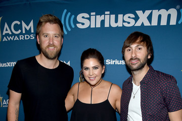 Dave Haywood SiriusXM's the Highway Channel Broadcasts Backstage Leading Up to the Academy of Country Music Awards at the T-Mobile Arena
