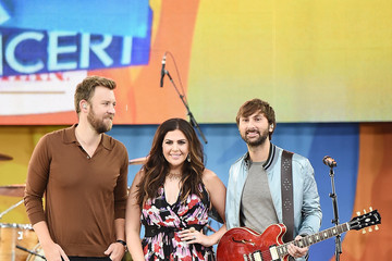 Dave Haywood Lady Antebellum Performs on ABC's 'Good Morning America'