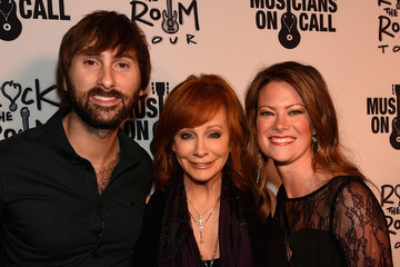 Dave Haywood Kelli Cashiola Musicians on Call Launches Rock the Room Tour in Nashville