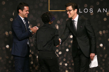 Dave Karger GLSEN Respect Awards – Los Angeles - Inside