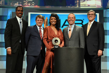 Dave Lougee NAB Show Television Luncheon Honors Chuck Lorre and Keke Palmer