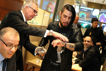 Dave Navarro Rolex Exclusive Presentation: Baselworld 2016 New Watches