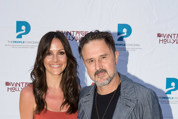 David Arquette Christina McLarty Vintage Hollywood Wine & Food tasting benefiting The People Concern
