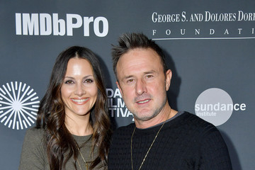 David Arquette Christina McLarty 2020 Sundance Film Festival - An Artist At The Table Presented By IMDbPro Dinner & Reception