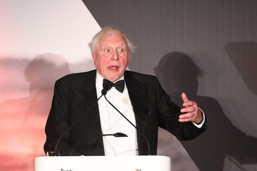 David Attenborough The Duke of Cambridge Attends the Tusk Trust Awards