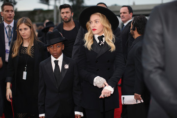 David Banda Mwale Ciccone Ritchie Arrivals at the Grammy Awards — Part 2