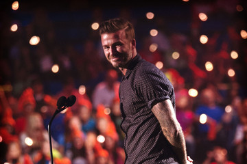 David Beckham Nickelodeon Kids' Choice Sports Awards 2014 - Alternative Views