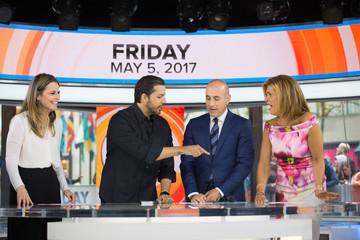 "David Blaine NBC's ""Today"" Season 66"