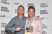 David Burtka Celebrates The Launch Of 'The Life Is A Party Cookbook' In Los Angeles With The Capital One Savor Credit Card
