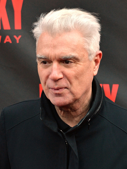 David Byrne Pictures Rocky Broadway Opening Night