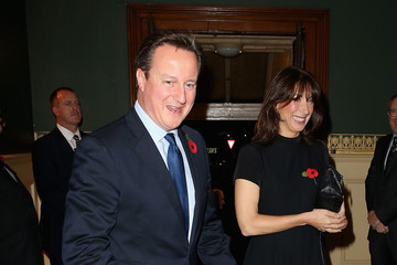 David Cameron Samantha Cameron The Royal Family Attends the Annual Festival of Remembrance
