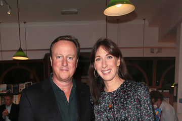 """David Cameron Samantha Cameron """"A Poet For Every Day Of The Year"""" - Photocall"""