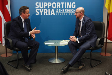 David Cameron Supporting Syria and the Region London 2016 Conference