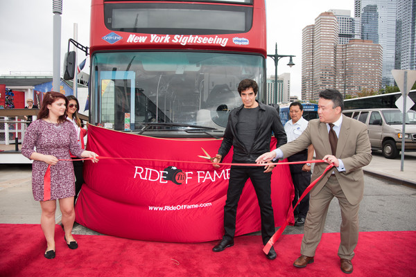 David Copperfield Ride of Fame Induction Ceremony