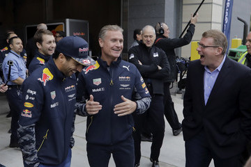 David Coulthard Red Bull Racing