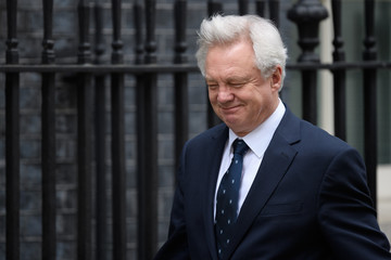 David Davis Government Ministers Arrive For Cabinet The Morning After Parliament Passed The Brexit Bill