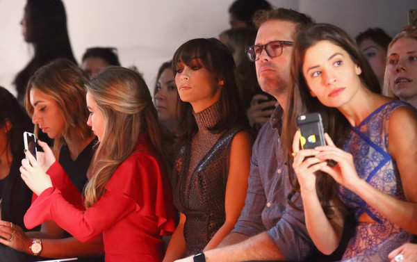 Angel Sanchez - Front Row - Spring 2016 New York Fashion Week: The Shows