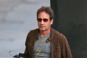 David Duchovny Celebrity Sightings In Los Angeles - January 02, 2018