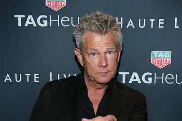 David Foster Haute Living Cover Launch With Patrick Dempsey and Tag Heuer at Nobu Malibu