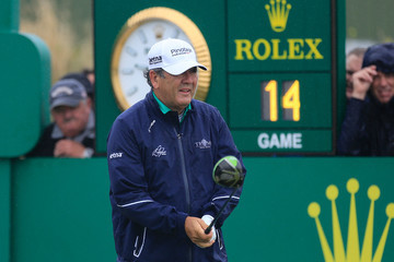 David Frost The Senior Open Championship - Day Two