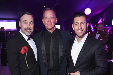 David Furnish David Cooley Inside the Elton John AIDS Foundation Oscars Viewing Party — Part 2